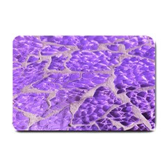 Festive Chic Purple Stone Glitter  Small Doormat  by yoursparklingshop