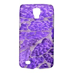 Festive Chic Purple Stone Glitter  Galaxy S4 Active by yoursparklingshop