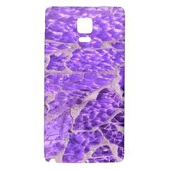 Festive Chic Purple Stone Glitter  Galaxy Note 4 Back Case by yoursparklingshop