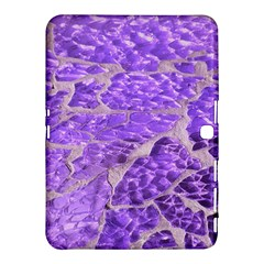 Festive Chic Purple Stone Glitter  Samsung Galaxy Tab 4 (10 1 ) Hardshell Case  by yoursparklingshop