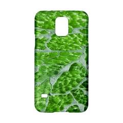 Festive Chic Green Glitter Shiny Glamour Sparkles Samsung Galaxy S5 Hardshell Case  by yoursparklingshop