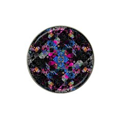 Stylized Geometric Floral Ornate Hat Clip Ball Marker (4 Pack) by dflcprints