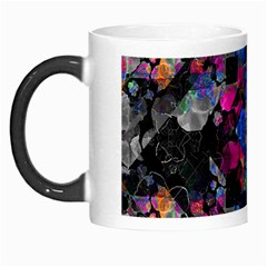 Stylized Geometric Floral Ornate Morph Mugs by dflcprints