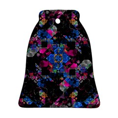 Stylized Geometric Floral Ornate Ornament (bell)  by dflcprints
