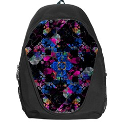 Stylized Geometric Floral Ornate Backpack Bag by dflcprints