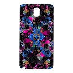 Stylized Geometric Floral Ornate Samsung Galaxy Note 3 N9005 Hardshell Back Case by dflcprints