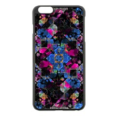 Stylized Geometric Floral Ornate Apple Iphone 6 Plus/6s Plus Black Enamel Case by dflcprints