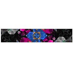 Stylized Geometric Floral Ornate Flano Scarf (large) by dflcprintsclothing