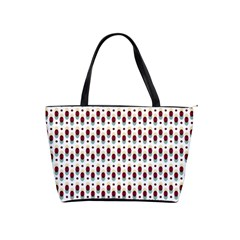 Geometric Retro Patterns Shoulder Handbags