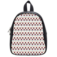 Geometric Retro Patterns School Bags (small)