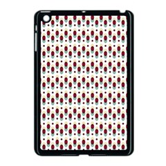 Geometric Retro Patterns Apple Ipad Mini Case (black) by TastefulDesigns