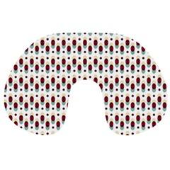 Geometric Retro Patterns Travel Neck Pillows