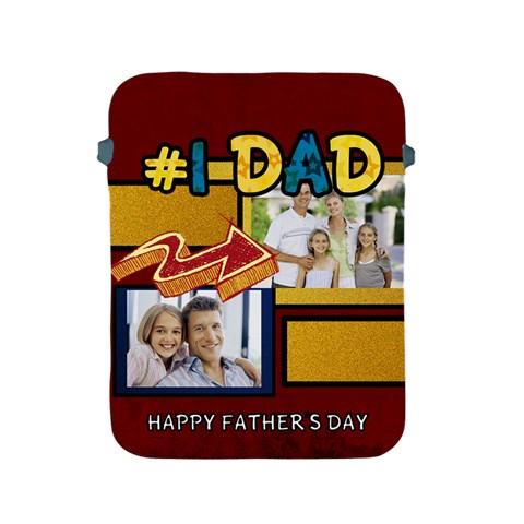 Fathers Day Gift By Dad   Apple Ipad 2/3/4 Protective Soft Case   Ndpki6jjbefi   Www Artscow Com Front