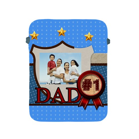 Fathers Day Gift By Dad   Apple Ipad 2/3/4 Protective Soft Case   Dtdbgncbp5o8   Www Artscow Com Front