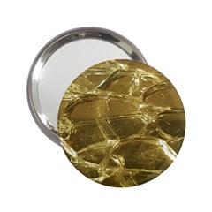Gold Bar Golden Chic Festive Sparkling Gold  2 25  Handbag Mirrors by yoursparklingshop