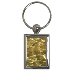 Gold Bar Golden Chic Festive Sparkling Gold  Key Chains (rectangle)  by yoursparklingshop