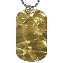 Gold Bar Golden Chic Festive Sparkling Gold  Dog Tag (One Side) by yoursparklingshop