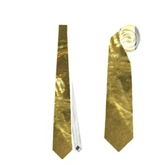 Gold Bar Golden Chic Festive Sparkling Gold  Neckties (one Side)