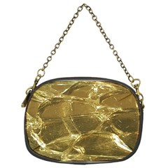 Gold Bar Golden Chic Festive Sparkling Gold  Chain Purses (two Sides)  by yoursparklingshop