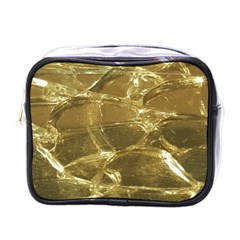 Gold Bar Golden Chic Festive Sparkling Gold  Mini Toiletries Bags by yoursparklingshop