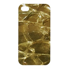 Gold Bar Golden Chic Festive Sparkling Gold  Apple Iphone 4/4s Premium Hardshell Case by yoursparklingshop