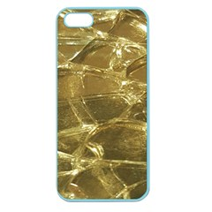 Gold Bar Golden Chic Festive Sparkling Gold  Apple Seamless Iphone 5 Case (color) by yoursparklingshop