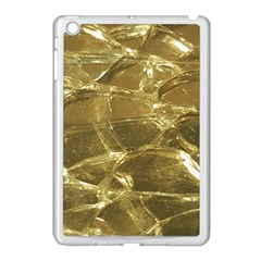 Gold Bar Golden Chic Festive Sparkling Gold  Apple Ipad Mini Case (white) by yoursparklingshop