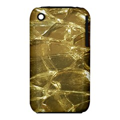 Gold Bar Golden Chic Festive Sparkling Gold  Apple Iphone 3g/3gs Hardshell Case (pc+silicone) by yoursparklingshop