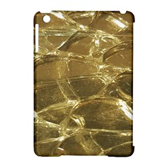 Gold Bar Golden Chic Festive Sparkling Gold  Apple Ipad Mini Hardshell Case (compatible With Smart Cover) by yoursparklingshop