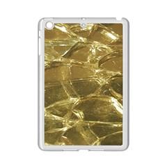 Gold Bar Golden Chic Festive Sparkling Gold  Ipad Mini 2 Enamel Coated Cases by yoursparklingshop