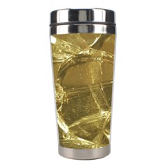 Gold Bar Golden Chic Festive Sparkling Gold  Stainless Steel Travel Tumblers by yoursparklingshop