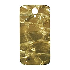 Gold Bar Golden Chic Festive Sparkling Gold  Samsung Galaxy S4 I9500/i9505  Hardshell Back Case by yoursparklingshop
