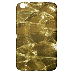 Gold Bar Golden Chic Festive Sparkling Gold  Samsung Galaxy Tab 3 (8 ) T3100 Hardshell Case  by yoursparklingshop