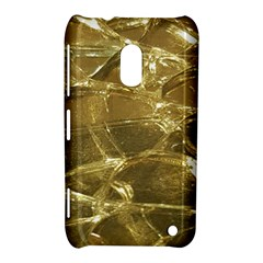 Gold Bar Golden Chic Festive Sparkling Gold  Nokia Lumia 620 by yoursparklingshop
