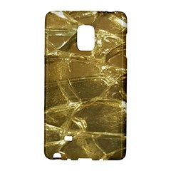 Gold Bar Golden Chic Festive Sparkling Gold  Galaxy Note Edge by yoursparklingshop