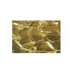 Gold Bar Golden Chic Festive Sparkling Gold  Satin Wrap by yoursparklingshop