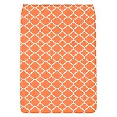 Tangerine Orange Quatrefoil Pattern Removable Flap Cover (s) by Zandiepants