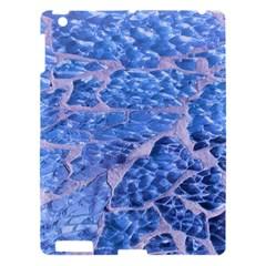Festive Chic Light Blue Glitter Shiny Glamour Sparkles Apple Ipad 3/4 Hardshell Case by yoursparklingshop