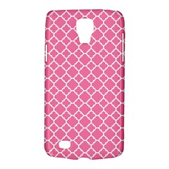 Soft Pink Quatrefoil Pattern Samsung Galaxy S4 Active (i9295) Hardshell Case by Zandiepants