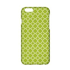 Spring Green Quatrefoil Pattern Apple Iphone 6/6s Hardshell Case by Zandiepants