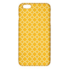 Sunny Yellow Quatrefoil Pattern Iphone 6 Plus/6s Plus Tpu Case by Zandiepants