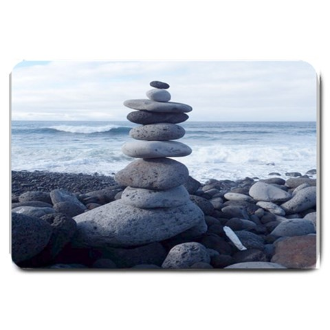Stacking Stones Zen Balance Formated Template  For Doormat Matching Set  : Set Matching  Doormat Template s Product By Pamela Sue Goforth   Large Doormat   Biudup1p3twe   Www Artscow Com 30 x20 Door Mat - 1