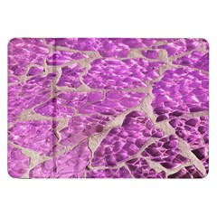 Festive Chic Pink Glitter Stone Samsung Galaxy Tab 8 9  P7300 Flip Case by yoursparklingshop