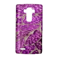 Festive Chic Pink Glitter Stone LG G4 Hardshell Case by yoursparklingshop