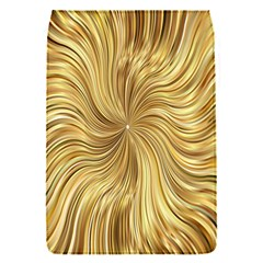 Chic Festive Elegant Gold Stripes Flap Covers (s)  by yoursparklingshop