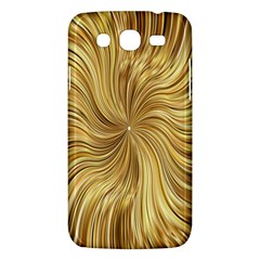 Chic Festive Elegant Gold Stripes Samsung Galaxy Mega 5 8 I9152 Hardshell Case  by yoursparklingshop