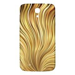 Gold Stripes Festive Flowing Flame  Samsung Galaxy Mega I9200 Hardshell Back Case by yoursparklingshop
