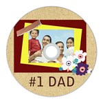 fathers day - CD Wall Clock