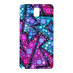 Blues Bubble Love Samsung Galaxy Note 3 N9005 Hardshell Back Case by KirstenStar