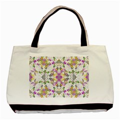 Geometric Boho Chic Basic Tote Bag (two Sides) by dflcprints